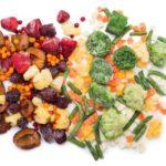 Potraviny do zásoby: mrazené ovocie a zelenina