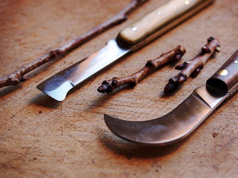 Štepárske nože