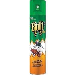 Biolit UNI spray proti muchám, komárom, švábom, mravcom a inému lietajúcemu a lezúcemu hmyzu 300 ml