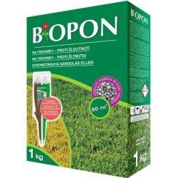 Biopon Trávník proti žloutnutí hnojivo 1 kg
