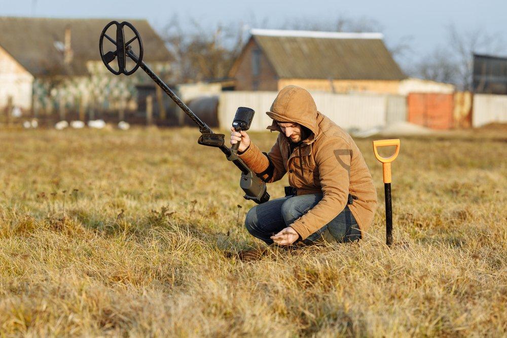 Hľadanie pomocou hobby detektora kovov