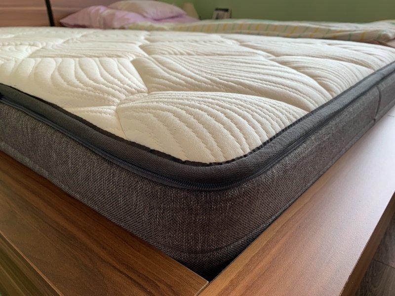 Pohľad na matrac zblízka