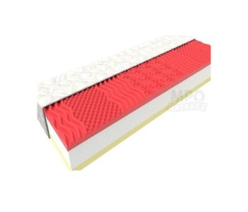 Červeno biely matrac