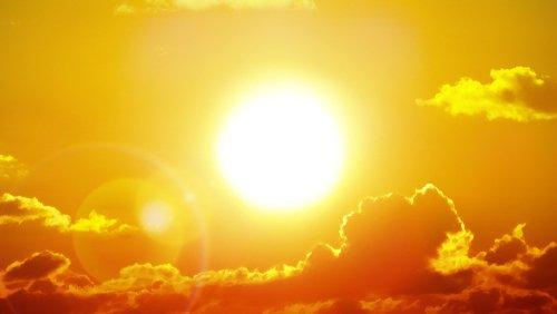 Páliace slnko