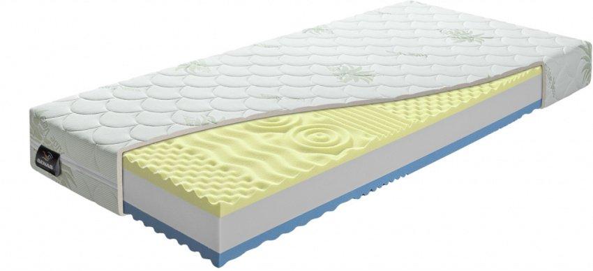 Sendvičový matrac vyrobený z pamäťovej peny