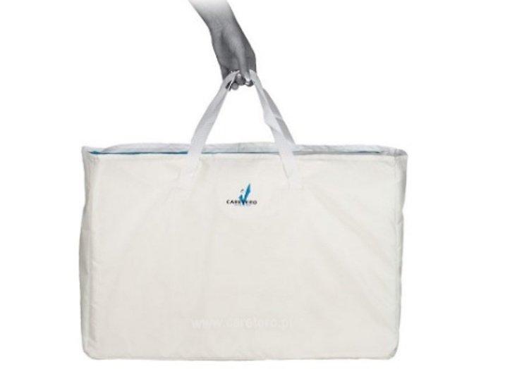 Matrac uskladnený v taške