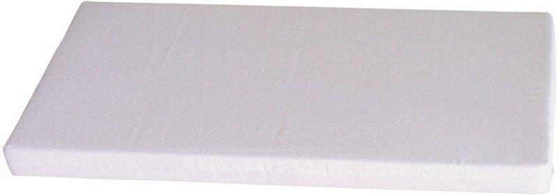 jednoduchý biely molitanový matrac do postieľky