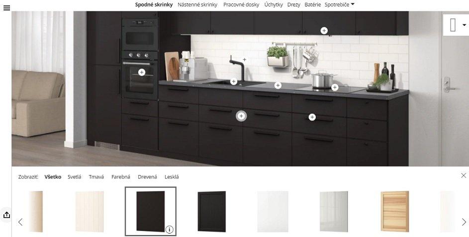 IKEA interaktívny online plánovač