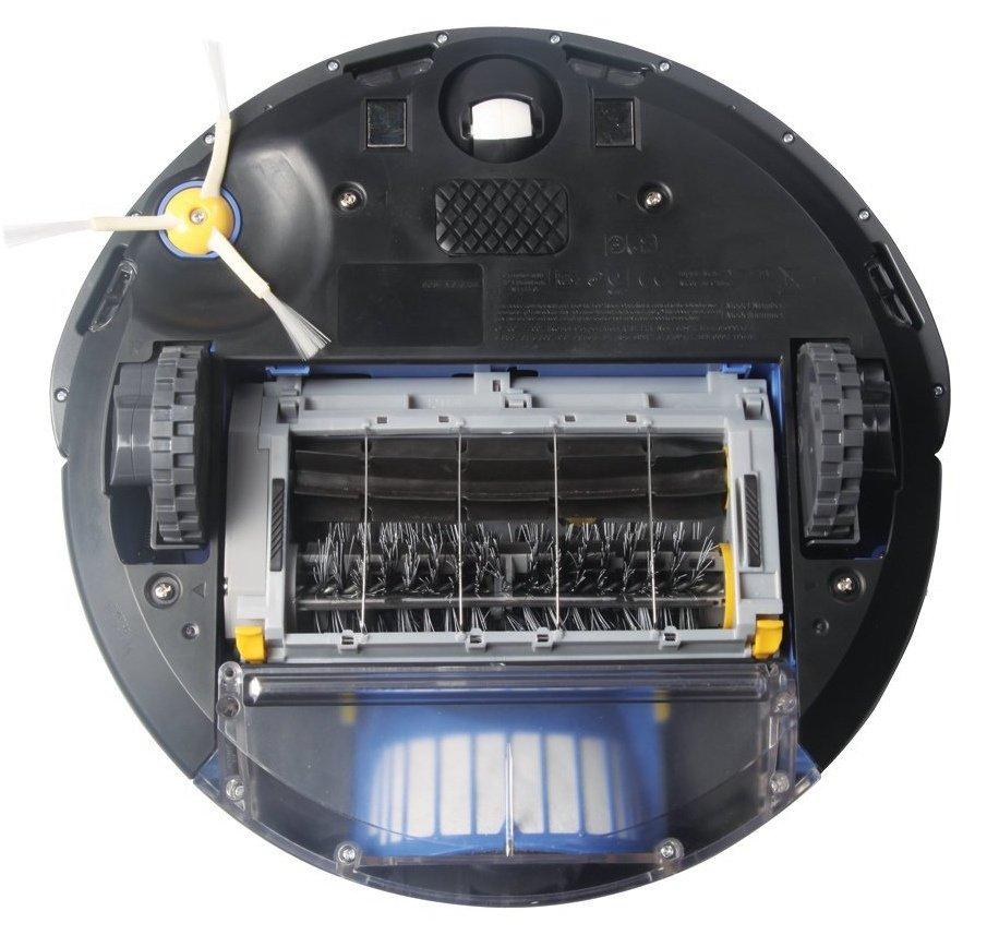 Robotický vysávač iRobot Roomba 606, recenzia, pohľad zospodu