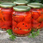 Zaváraná nakladaná paprika + tip bez sterilizácie