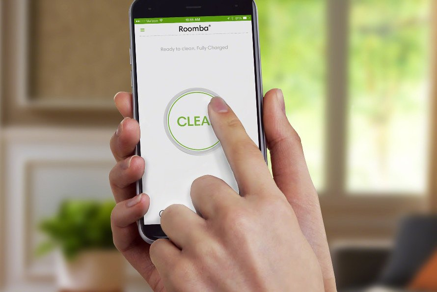iRobot Roomba 676 WiFi - aplikácia iRobot HOME