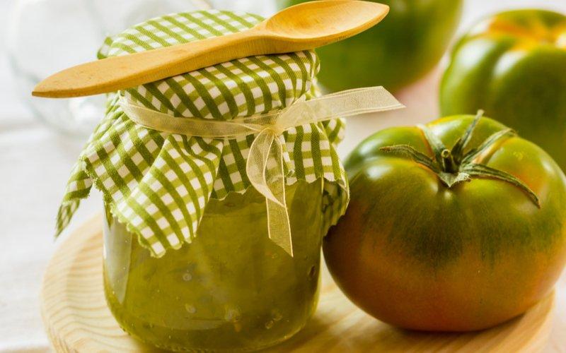 Lekvár zo zelených paradajok