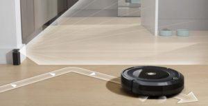 robotický vysávač iRobot Roomba 676 WiFi - virtuálna stena