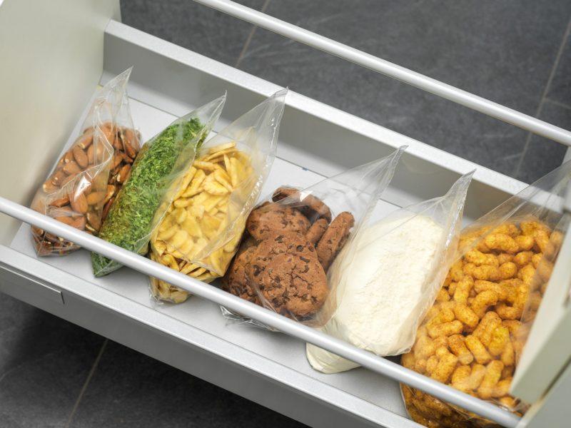 Vzduchotesne uzavreté potraviny