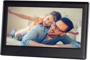 Rodinka na digitálnom fotorámiku