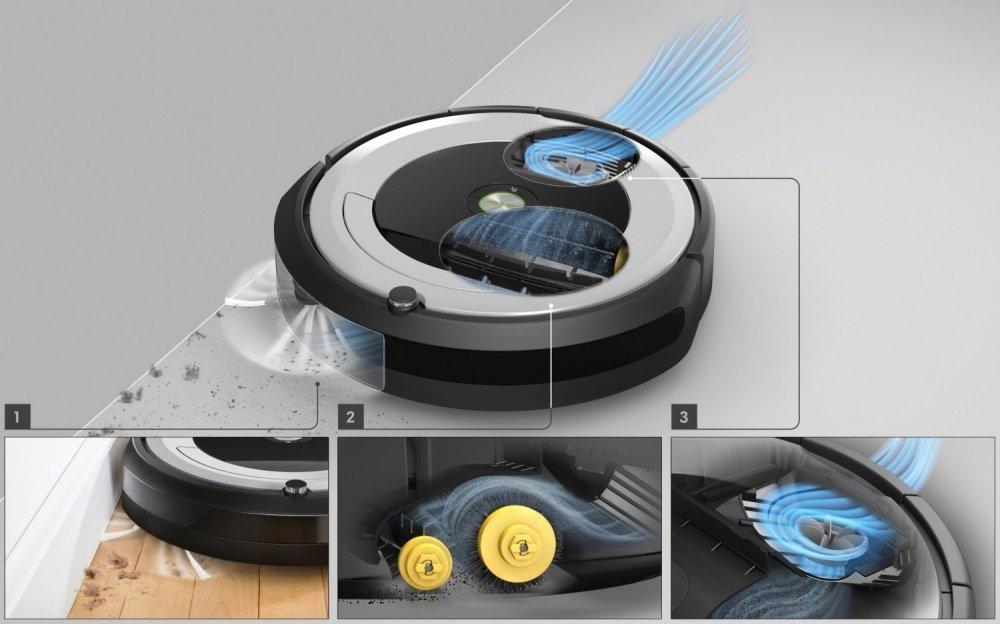 iRobot Roomba e5 - čistiaci systém AeroForce