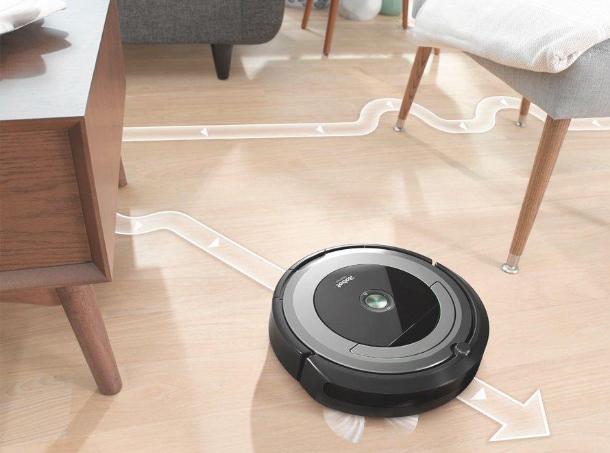 iRobot Roomba e5 - navigácia iAdapt