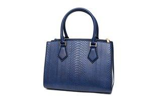 Modrá dámska kabelka