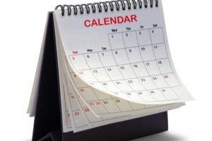Stolový kalenedár