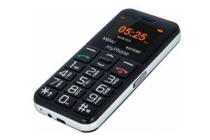 Tlačidlový mobil pre seniorov