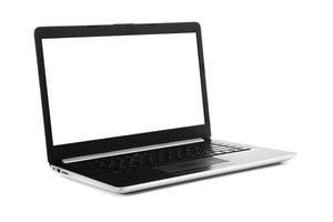 Otvorený notebook