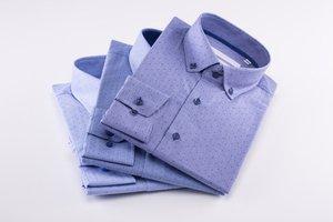 Tri modré pánske košele