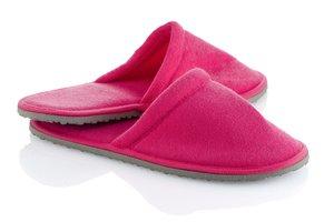 Dámske domáce ružové papuče