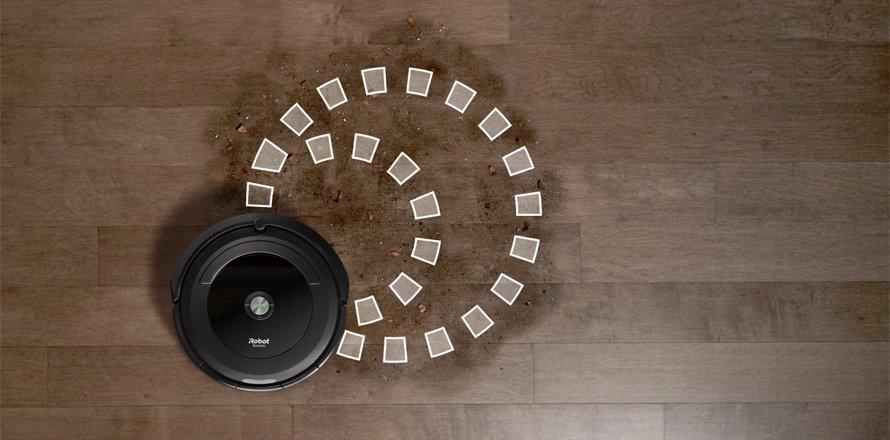 Režim SPOT na lokálne upratovanie - Roomba 696