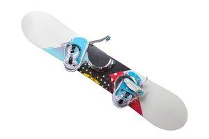 Farebný snowboard