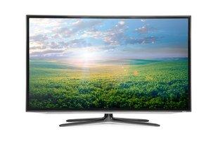 Moderný farebný televízor