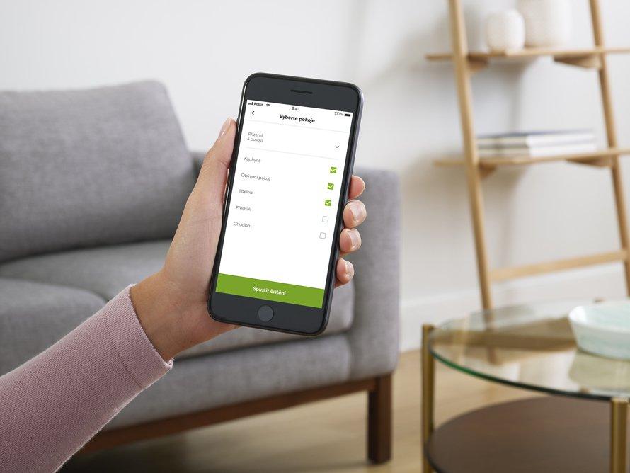iRobot Roomba s9+ WiFi - mobilná aplikácia iRobot HOME