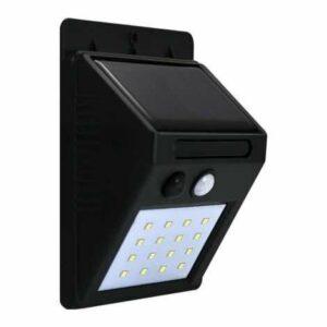 LED Solárne nástenné svietidlo so senzorom LED/2,2W