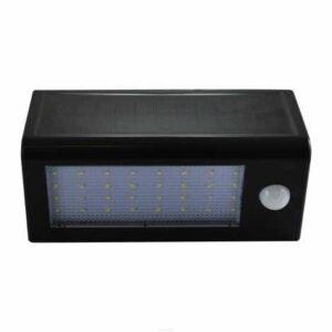 LED Solárne nástenné svietidlo so senzorom LED/5W
