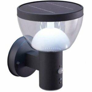 LED Vonkajšie solárne nástenné svietidlo so senzorom LARIX LED/3W/230V IP44