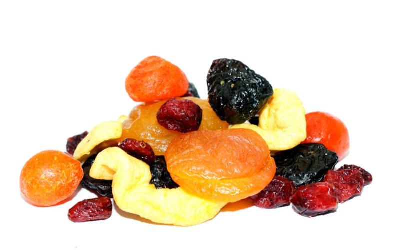 Miešané sušené ovocie
