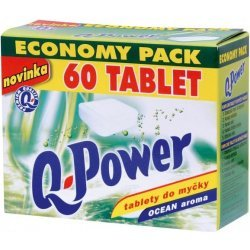 Q power tablety do umyvacky economy 60ks