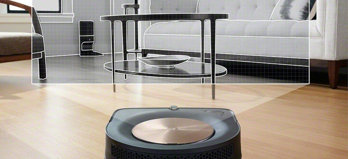 Robotický vysávač iRobot Roomba s9+ WiFi - navigácia vSLAM