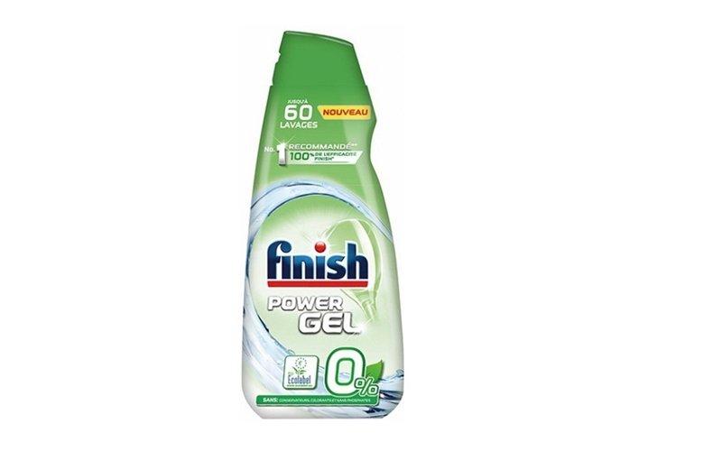 Gél do umývačky v zelenej fľaši