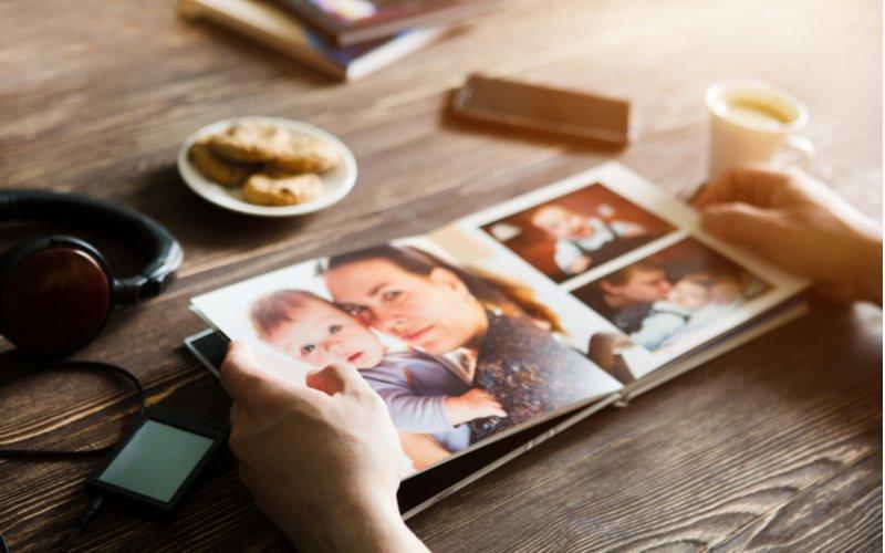 Fotokniha z rodinných fotiek