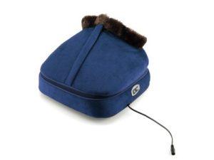Modrý masážny prístroj na nohy