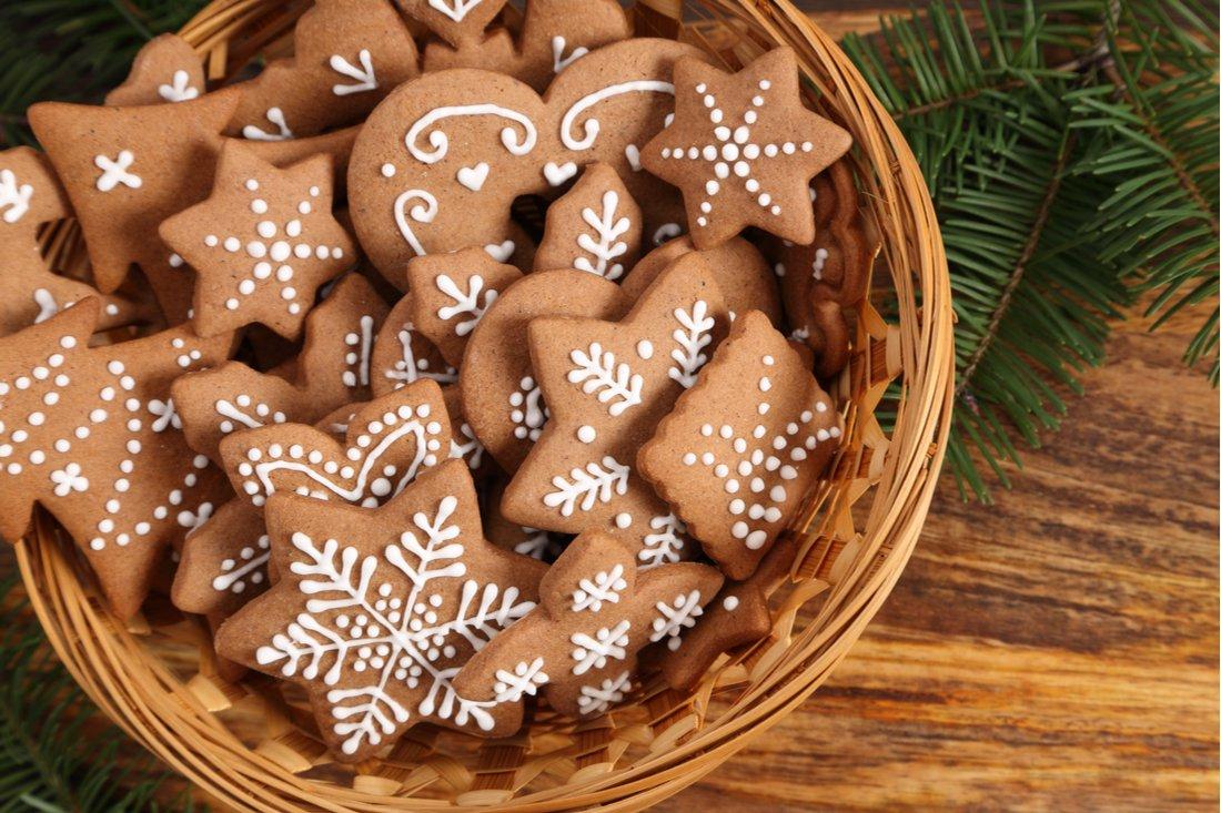 Vianočné zdobené medovníky
