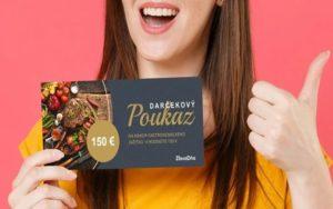 Darčekový poukaz v hodnote 150 eur