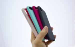 Farebné púzdra na mobilný telefón