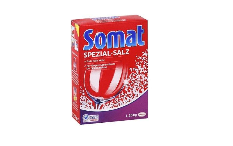 Soľ do umývačky riadu Somat
