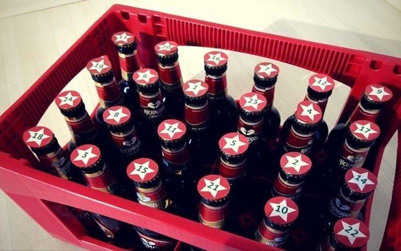 Fľaškové pivo v prepravke