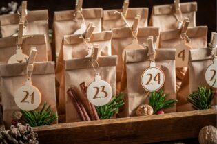 Vrecká na adventný kalendár