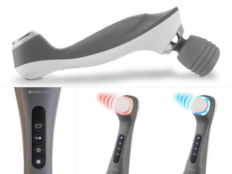 Masážny prístroj Wellneo 3v1 Pro a termoterapia