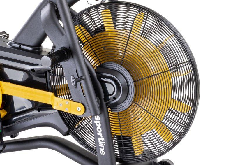 Žltý ventilátor v Air biku
