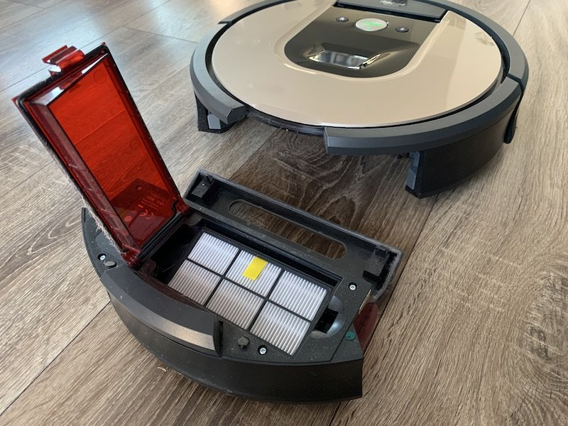 Zberná nádoba - kôš vysávača iRobot Roomba 976
