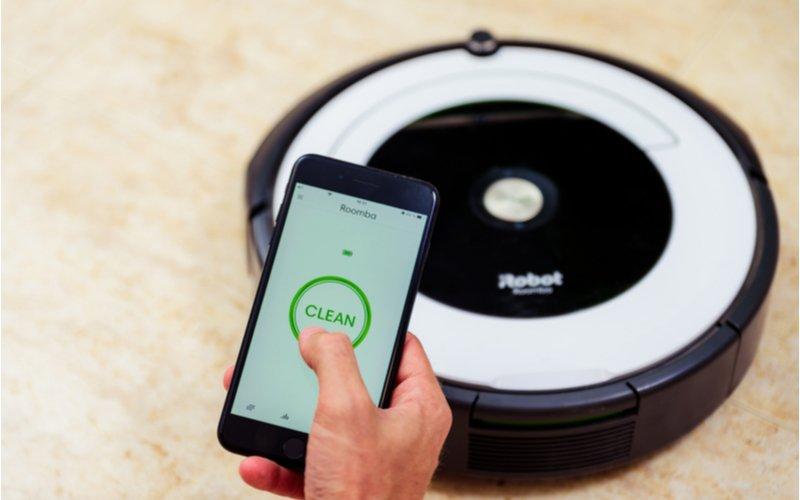 Mobil a robotický mop
